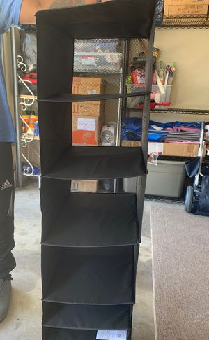Hanging Closet Organizer with Compartment Drawer for Sale in San Diego, CA