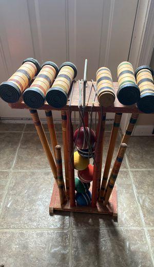 Vintage croquet set for Sale in Woodbridge, VA