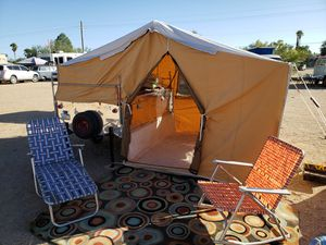 1961 JC Higgins pop up tent camper for Sale in Tucson, AZ