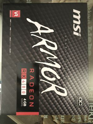 ARMOR RADEON RX 480 4GB GDDR5 for Sale in Cypress, TX