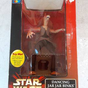 Star Wars Episode 1 Dancing Jar Jar Binks Animated Figure. (New Opened Box) L@@K!!! for Sale in Mesa, AZ