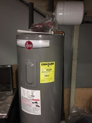 Rheem 50 Gallon Electric Water Heater for Sale in North Salt Lake, UT