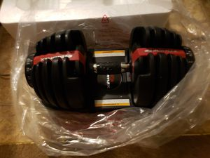 Bowflex Select Tech 552 Adjustable Dumbbell Set $330 (new) for Sale in Houston, TX