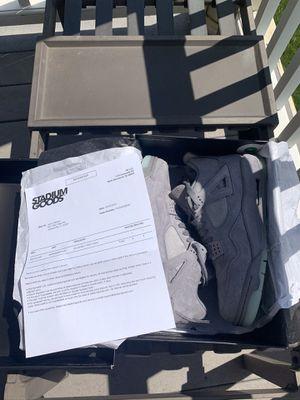 Jordan 4 kaws size 12 for Sale in Upper Marlboro, MD