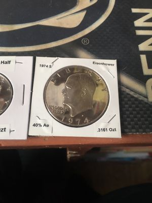 Gem uncirculated mint set silver Eisenhower, Kennedy & Washington for Sale for sale  Morrisville, PA