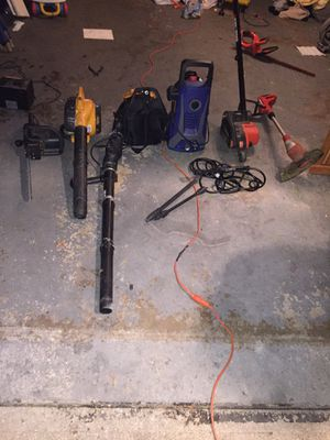 Pressure washer blowers etc inbox for prices for Sale in Cincinnati, OH