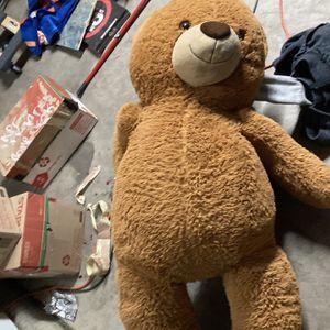 Huge Teddy Bear4ft Tall for Sale in Avondale, AZ