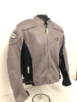 Women's Joe Rocket Phoenix Mesh Padded Armor Motorcycle Biker Racing Jacket- L for Sale in Davenport, FL