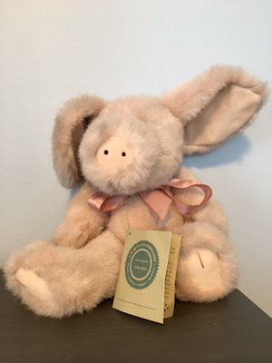 "98 J.B.Bean & Associates Pink Pig Stuffed Animal Plush Toy 14"" for Sale in Warwick, RI"