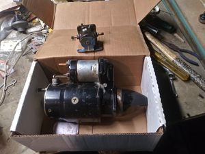454 marine starter left or right for Sale in Waltham, MA