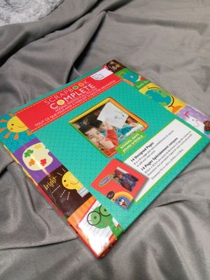 School Themed Scrapbook with Embellishments, new! for Sale in Federal Way, WA