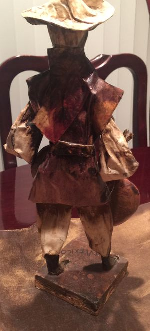 Very antique Papel and ceramic figure $12 for Sale in East Providence, RI