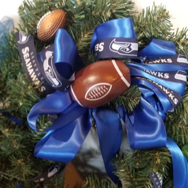 Great Gift seattle Seahawks Wreath