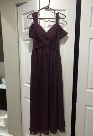 Plum Bridesmaid or Prom Dress size 2 for Sale in Pennsauken Township, NJ