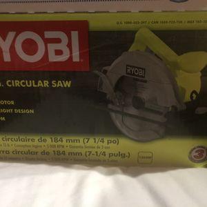 Ryobi Circular Saw New $40 for Sale in Houston, TX