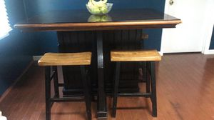 Table with four stools for Sale in Wilson, NC