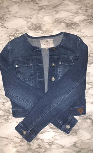 Guess jeans jacket for women for Sale in Boca Raton, FL