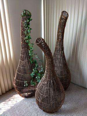 Decor wicker set. for Sale in Redlands, CA