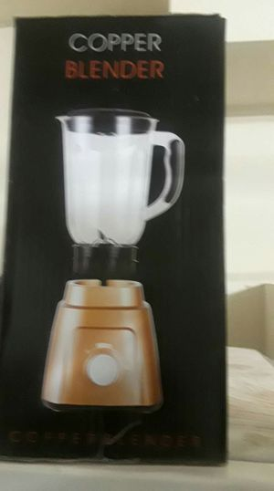 Copper blender new for Sale in Albuquerque, NM