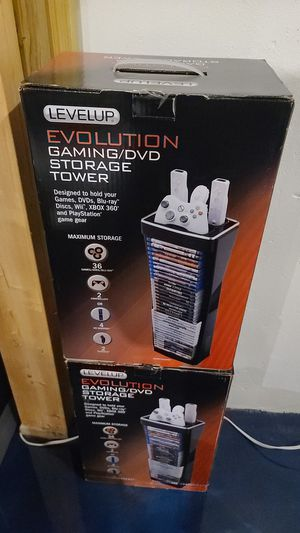 Gaming DVD storage tower x2 for Sale in Holland, MI