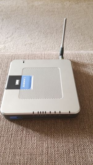 Linksys WRT54G3G-ST Wireless-G Router for Mobile Broadband for Sale in San Diego, CA