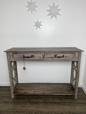 """New Wood rustic farmhouse console table 47"""" for Sale in Oviedo, FL"""