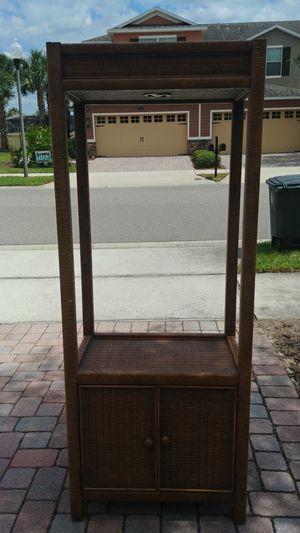 Wicker shelving units for Sale in Winter Garden, FL