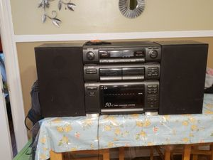 Vintage sharp stereo system for Sale in Dorchester, MA