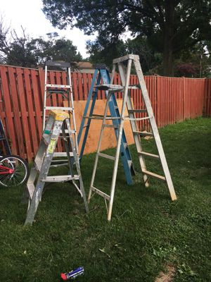 Ladders all for one price for Sale in Bailey's Crossroads, VA