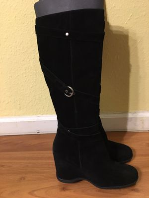 Black Suede Boots for Sale in South San Francisco, CA