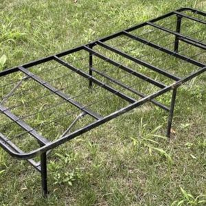 Sturdy Metal Slat Folding Portable Cot Beach Camping Bed Frame Platform for Sale in Chapel Hill, NC