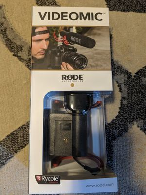 Rode Microphone & Furry windshield for Sale in Ephrata, PA