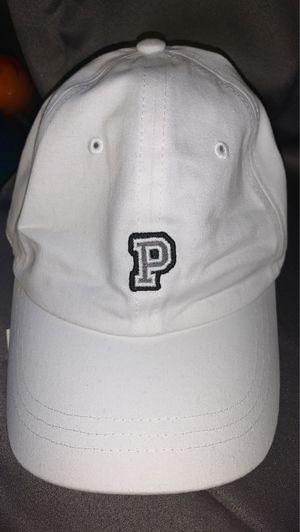 pink brand white hat for Sale in Mundelein, IL
