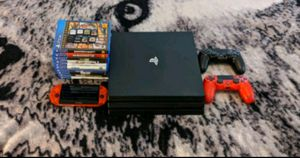 ps4 pro with extras for Sale in Waterbury, CT