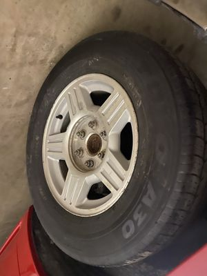 17' Chevy wheels for Sale in Fort Worth, TX