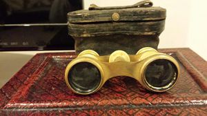 Antique Lameire FT Paris Opera Glasses Mother of Pearl with case for Sale in Nokesville, VA
