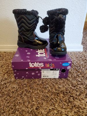 Toddler girl totes boots for Sale in Nampa, ID