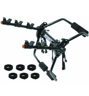 Axis 3 Black 3-Bike Trunk Mount Bike Carrier for Sale in Irving, TX