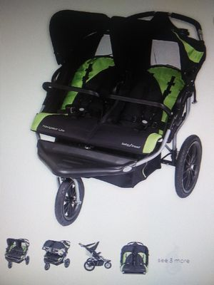 Baby Trend Navigator Lite Double Jogger Stroller for Sale in Hollywood, FL