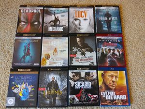 Blu Ray Movies. for Sale in Ridgefield, WA