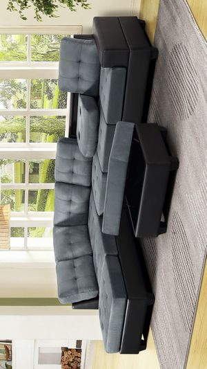 Heights Sectional Sofa with ottoman for Sale in Houston, TX