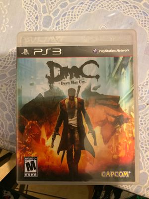 DMC Devil May Cry (PS3 game) for Sale in Los Angeles, CA