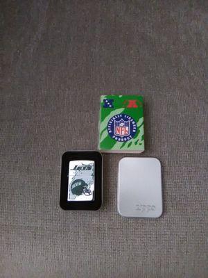 1996 ZIPPO lighter with tin.JETS for Sale in Basking Ridge, NJ