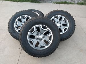 "2016 JEEP Wrangler Wheels 17"" 5x5 OEM for Sale in Chino, CA"