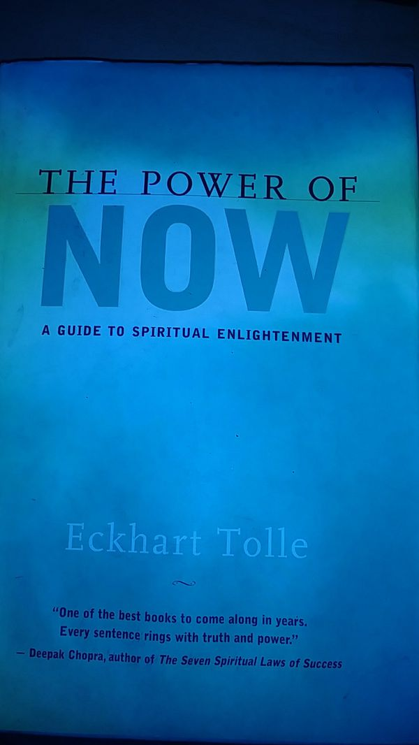 The power of now book!!