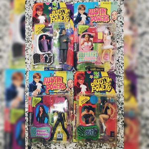 Austin Powers Action Figures + Doll for Sale in Haslet, TX