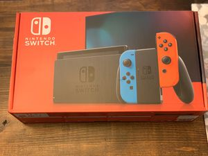 Nintendo Switch neon red blue for Sale in Tampa, FL