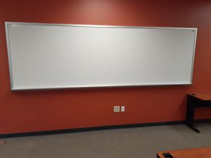 14 foot polyvision ceramic steel whiteboard for Sale in Columbus, OH