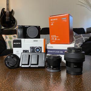 Sony A6000 Kit for Sale in Phoenix, AZ