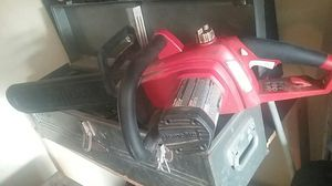 Homelite chainsaw asking 25 works great for Sale in Glendale, AZ